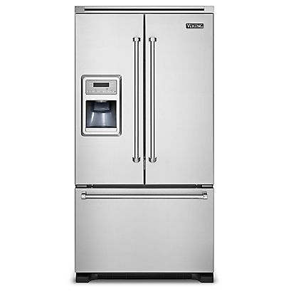 "Viking 36"" Side-by-Side with Ice and Water Dispenser - VCSF"