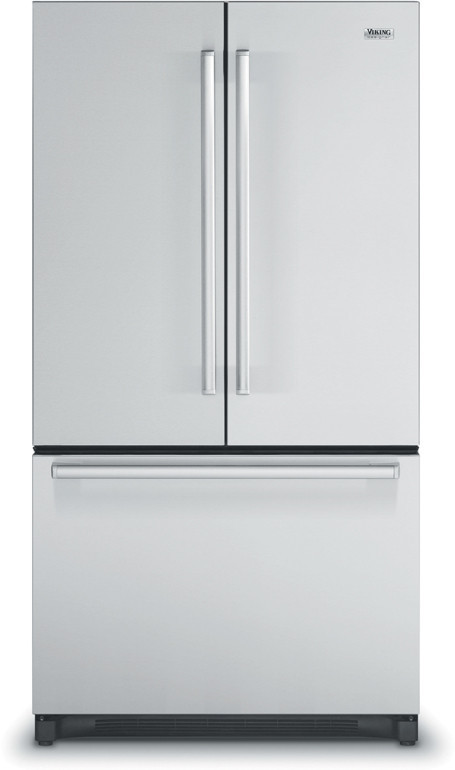 "Viking 36"" French-Door Bottom-Mount Refrigerator/Freezer - DDFF"