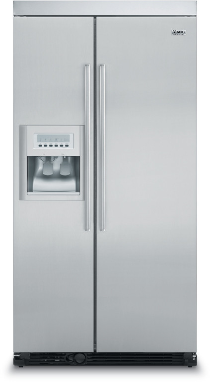 "Viking 36"" Side-by-Side with Ice and Water Dispenser - DDSF"