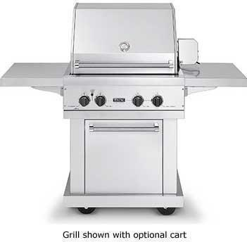 "Viking 30"" Ultra-Premium T-Series Grill with TruSear Infrared Burner - VGIQ"