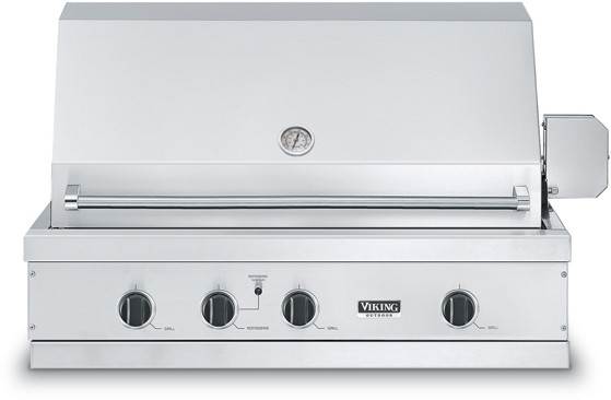 "Viking 41"" Ultra-Premium T-Series Grill with TruSear Infrared Burner- VGIQ"