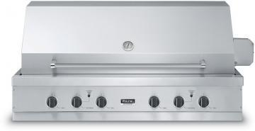 "Viking 53"" Ultra-Premium T-Series Grill with TruSear Infrared Burner- VGIQ"