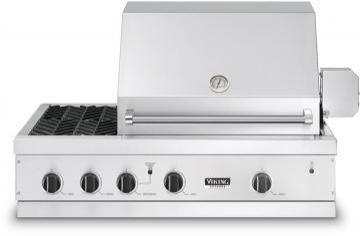 "Viking 41"" Ultra-Premium E-Series Grill with Side Burners - VGBQ"