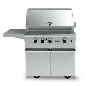 "Viking 41"" Ultra-Premium E-Series Grill with TruSear Side Griller - VGIQ"