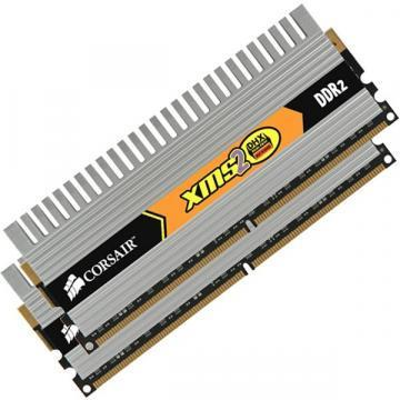 Corsair XMS2 2x1GB, 800MHz DDR2