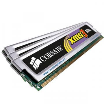 Corsair XMS3 3x2GB, 1333MHz DDR3, CL7