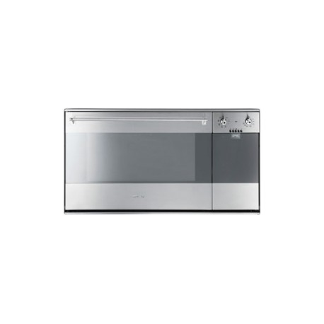 Smeg SE995XT-7 electric multifunction+integrated panini toaster