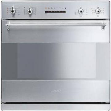 Smeg S201X multifunction combined electric and microwave oven