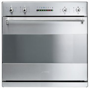 Smeg S302X multifunction combined electric with steam oven