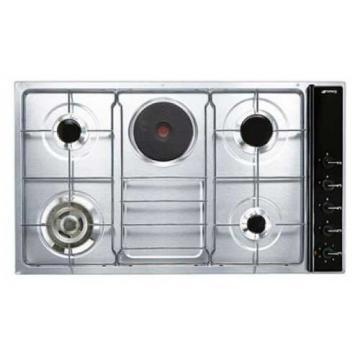 Smeg SR191A3 gas+electric hob