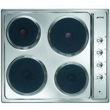 Smeg SE435X electric hob
