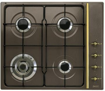 Smeg SR804ADS3 gas hob