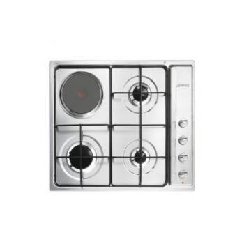 Smeg SE63NX3 gas+electric hob