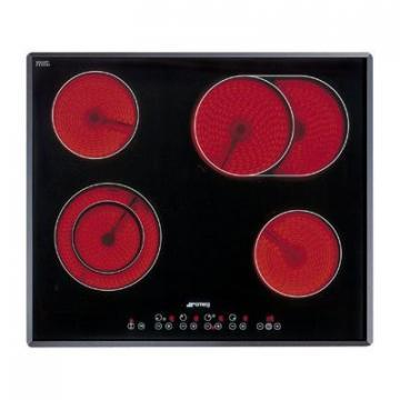 Smeg SE2665TC1 ceramic hob