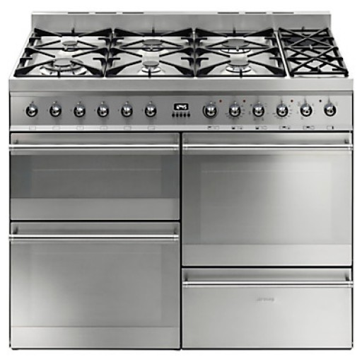 Smeg SY4110 dual fuel cooker with grill