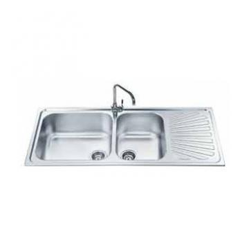 Smeg AG116D 2 bowl sink