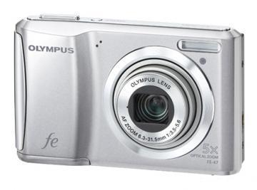 Olympus FE-47 Digital Photo Camera (silver)