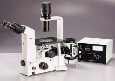 Meiji Techno TC5500 Epi-Fluorescence Inverted Biological Microscope