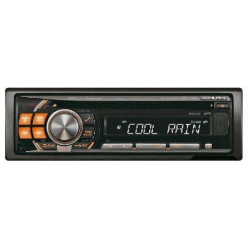 Alpine CDE-111R Car CD Player with iPod Control