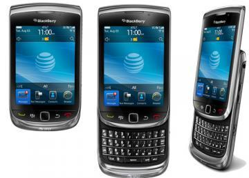 BlackBerry TORCH 9800 Slider Phone