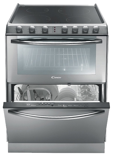 Candy TRIO 9503X Oven with built-in Dishwasher