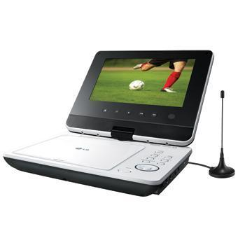 "LG DP471BT 7"" Portable DVD/DivX Player"