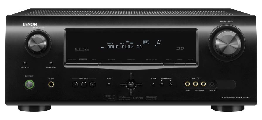 Denon AVR-1611 HDMI v1.4 Home Cinema Receiver