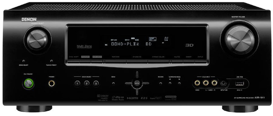 Denon AVR-1911 HDMI v1.4 Home Cinema Receiver