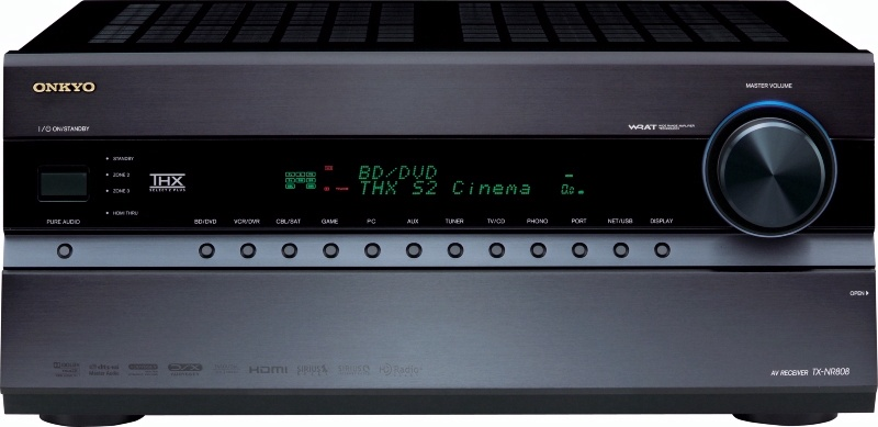 Onkyo TX-NR808 7.2-Channel Network A/V Receiver