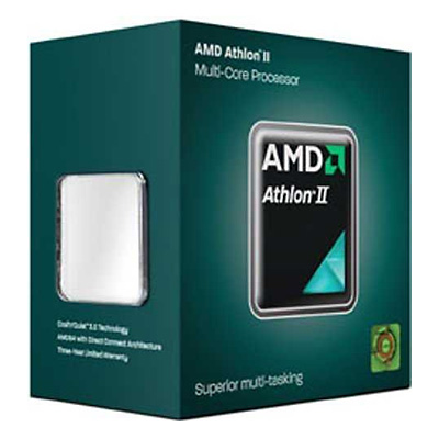 AMD Athlon II X3 445, socket AM3, 3.1GHz