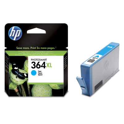 HP 364XL Cyan Vivera Ink
