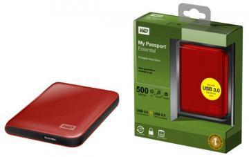WD My Passport Essential 3.0, 2.5'', 500GB, USB 3.0