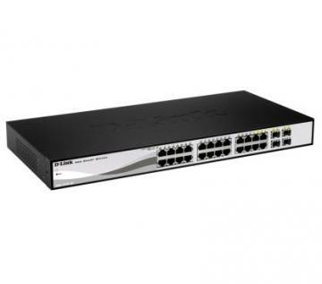 D-Link 24-port 10/100/1000 Gigabit Smart Switch DGS-1210-24
