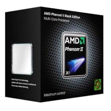 AMD Phenom II X6 Six Core 1090T Black Edition, Socket AM3, 3,2GHz