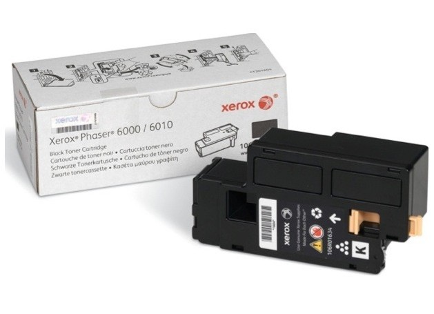 Xerox Phaser 6000/6010 Black Toner