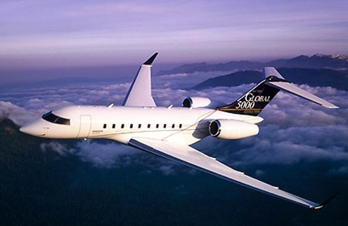 Bombardier Global 5000 Jet