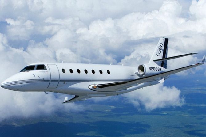 Gulfstream G200 Business Jet