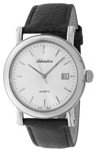 Adriatica 1007 Men`s Strap Wristwatch