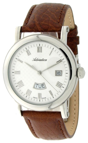 Adriatica 1023 Men`s Strap Wristwatch