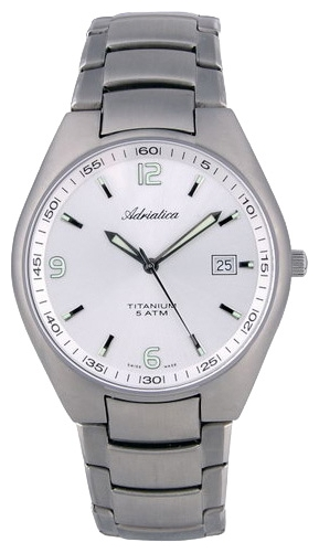 Adriatica 1069 Men`s Titanium Case Wristwatch