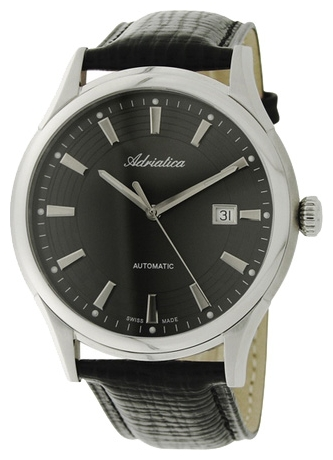 Adriatica 2804 Men`s Automatic Strap Wristwatch
