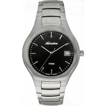 Adriatica 8201 Men`s Titanium Case Wristwatch