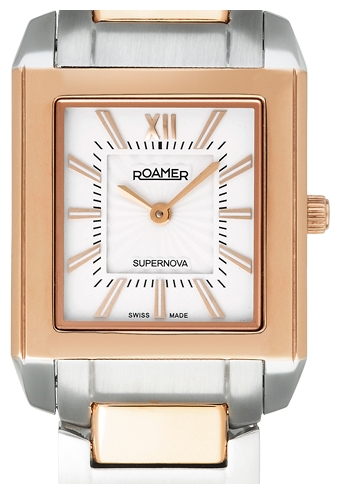 Roamer Supernova Rectangular Ladies Wristwatch