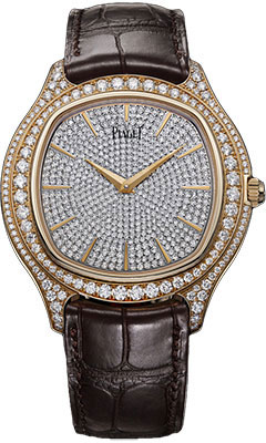 Piaget Emperador cushion-shaped watch G0A35022