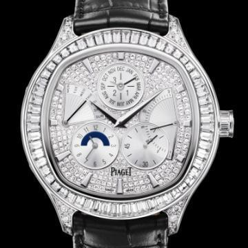 Piaget Emperador cushion-shaped watch G0A35020