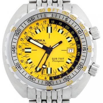 DOXA SUB 750T GMT Divingstar dive watch