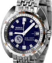 DOXA SUB 1200T Numa Blue dive watch