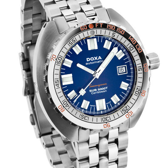 DOXA SUB 5000T Caribbean dive watch