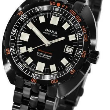 DOXA SUB 5000T Sharkhunter PVD dive watch