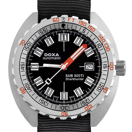 DOXA SUB 800Ti Sharkhunter dive watch